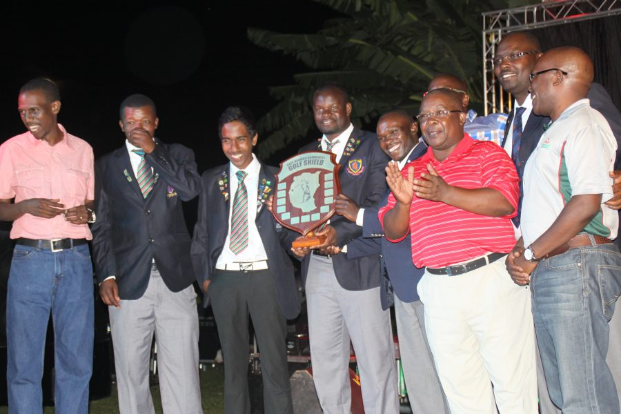 Kenya National Team won the Inaugral EAC Golf shield