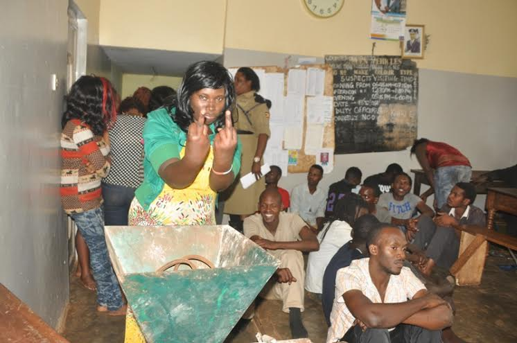Police Arrests Revelers From Club 17 Bar In Entebbe