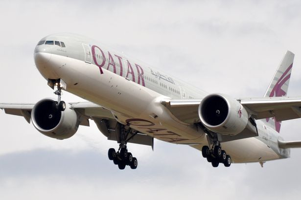 Qatar Airways flight from New York to Doha was forced to divert to Manchester Airport due to 'drunken passenger'