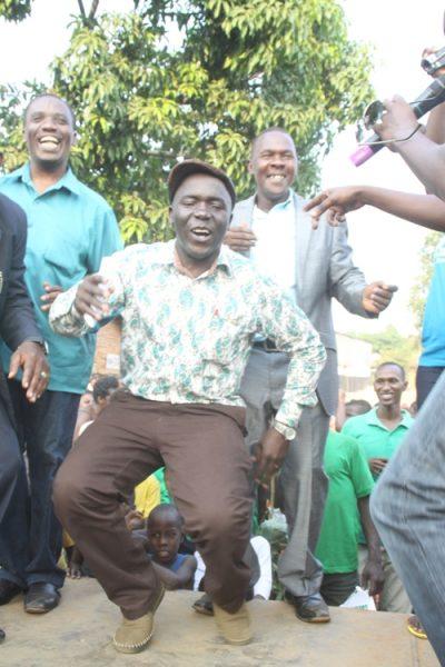 Mayor Kayanja in Monkey Dance Moves.
