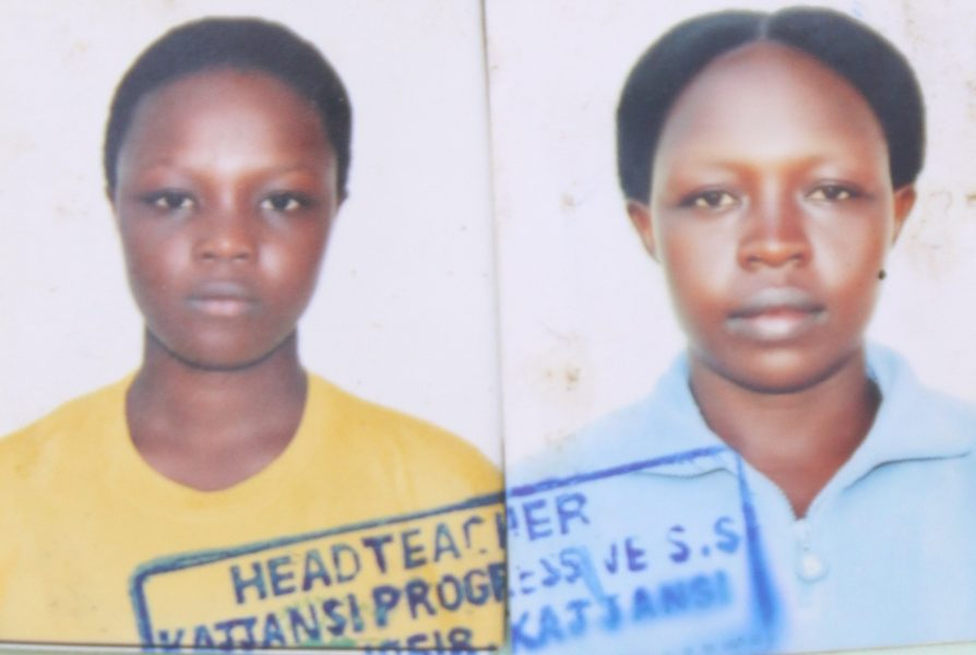 Brenda Ahumuza's picture. She was mysteriously kidnapped by yet to be identified persons