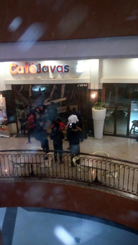 Cafe Javas restaurant building collapsed in the wee hours of Thursday Morning.