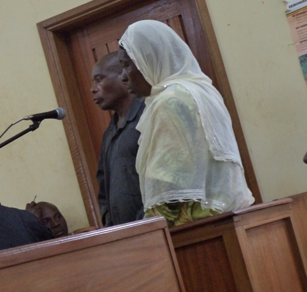 Convicted Yuvinali Minani and his wife Habiba Nakazi were jailed 26years in prison