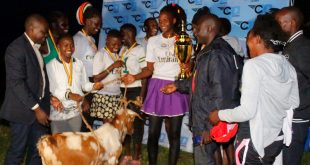 Team Mpala Police walked away with a goat courtesy of CAA.