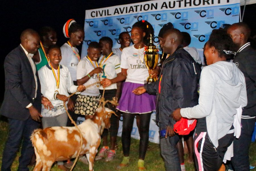 Team Mpala Police walked away with a goat courtesy of CAA.