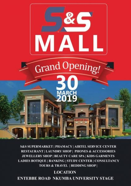 S&S Grand Opening Nkumba Entebbe 30th March