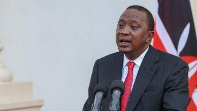 uhuru kenyaatta's social media accounts deactivated