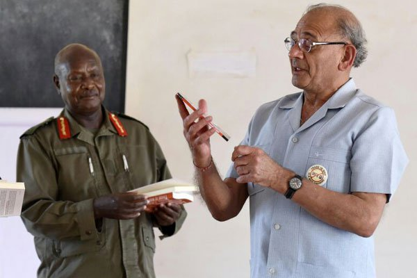 Prof Tandon to Museveni Hand power to young generation