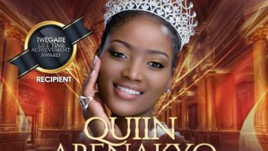 Quiin Abenakyo to receive a lifetime achievement award