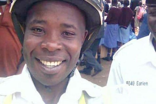 Deceased: Police Constable (PC) Innocent Ayesigye. COURTESY PHOTO