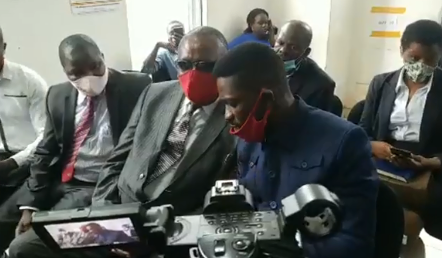 Bobi Wine, Kibalama Meet in Court as Police Locks Out Journalists