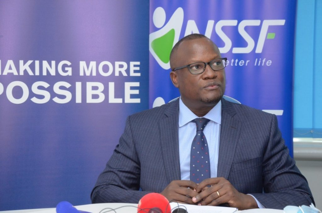 Matthias Katamba, dfcu Bank Managing Director