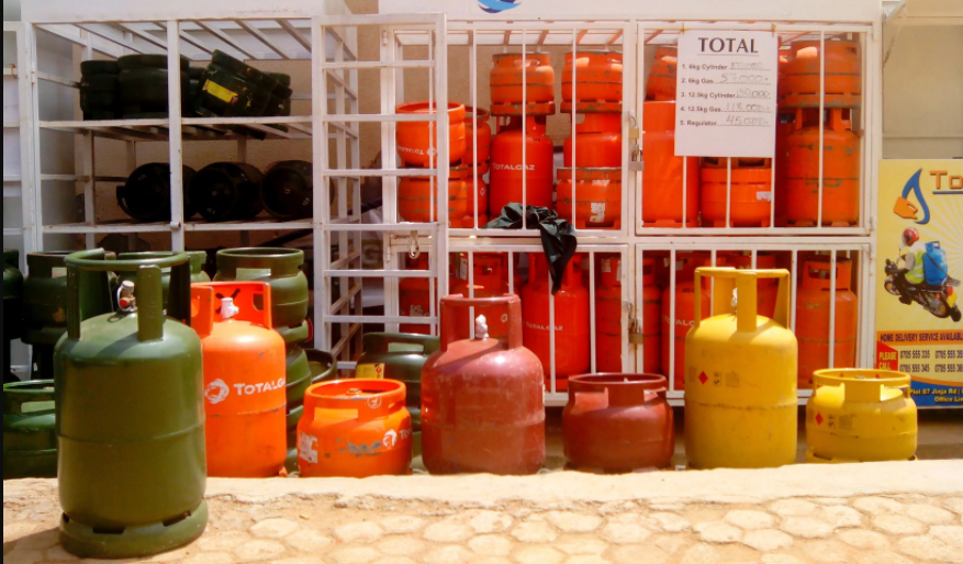 cooking gas prices in uganda drop