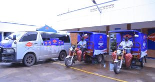Fresh Dairy, the leading dairy products producer in Uganda has boosted its free home delivery services with more fleet to deliver both Fresh Dairy and Brookside products.