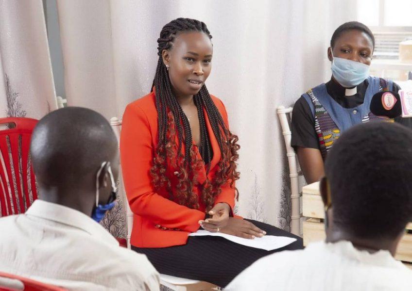 Barbie Kyagulanyi Donates Sewing Machines to Teenagers