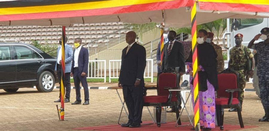 Museveni at Kololo
