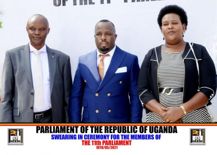 Rukiga people will be considered first, Roland promises after taking oath of office as the new MP